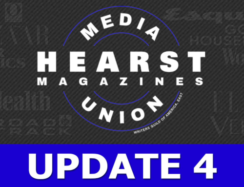 We have asked Hearst to Recognize our Union! RSVP for the General Meeting